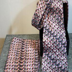 Umberto FRASI Italia Boxed Tie Handkerchief Set